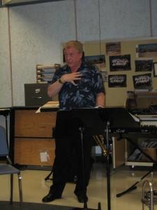 The esteemed trumpeter, Bobby Livingood