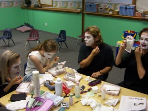 We added a mime routine to the skit and a little Stravinsky